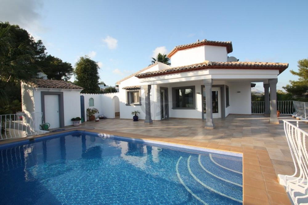 Villa In Benimeit, Moraira For Sale 3 Bedrooms 3 Bathrooms, Alicante