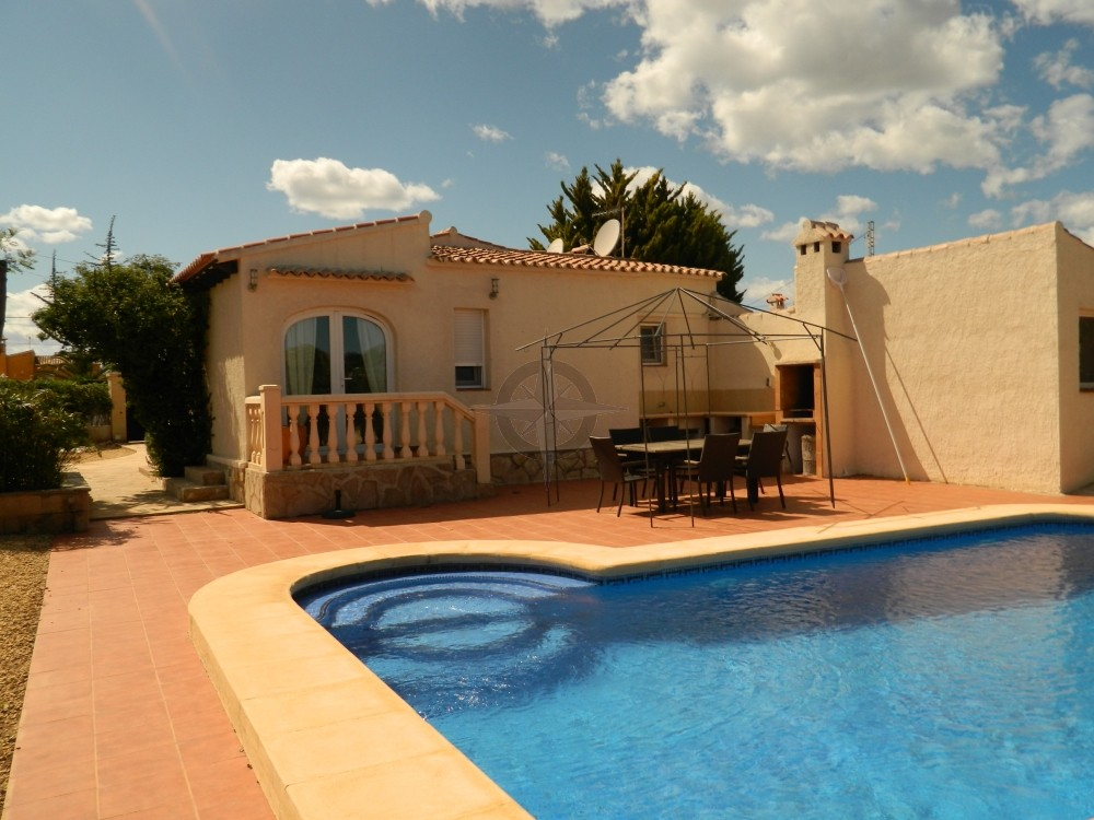 Lovely 3 Bedrooms 3 Bathrooms Villa In Costa Nova, Javea, Alicante