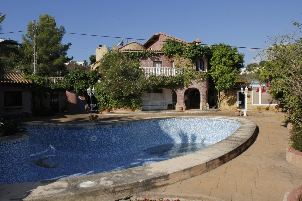 Villa In Moraira For Sale 7 Bedrooms 7 Bathrooms, Alicante