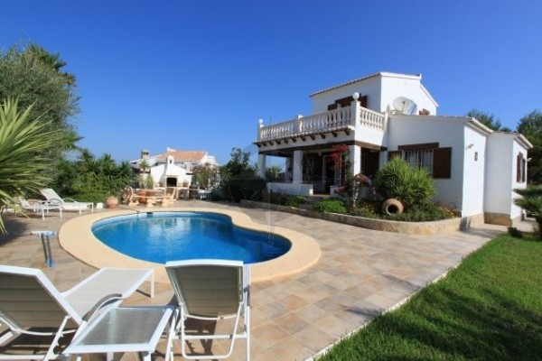 Charming And Elegant Finca Styled Villa In Cumbre Del Sol, Benitachell, 3 Bedrooms 2 Bathrooms, Alicante