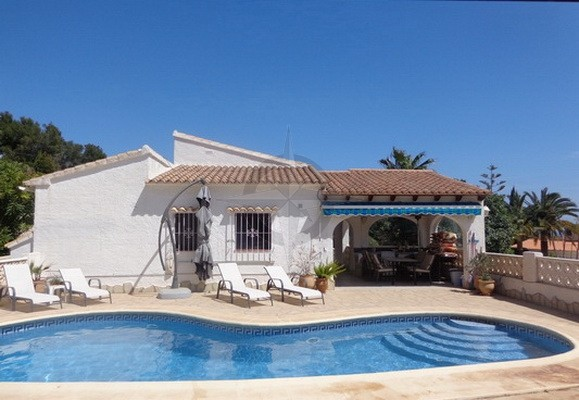 Villa In Moraira For Sale 3 Bedrooms 2 Bathrooms, Alicante