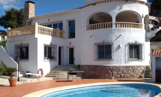 Villa In Javea For Sale 6 Bedrooms 5 Bathrooms