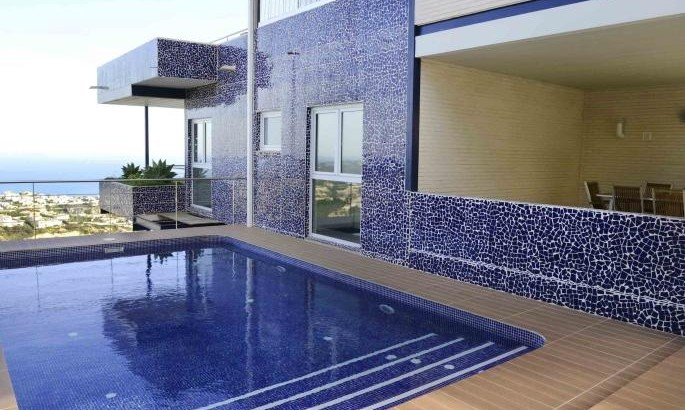 Magnificent And Grande Villa, 4 Bedrooms 4 Bathrooms, Benitachell, Alicante, With Panoramic Sea Views