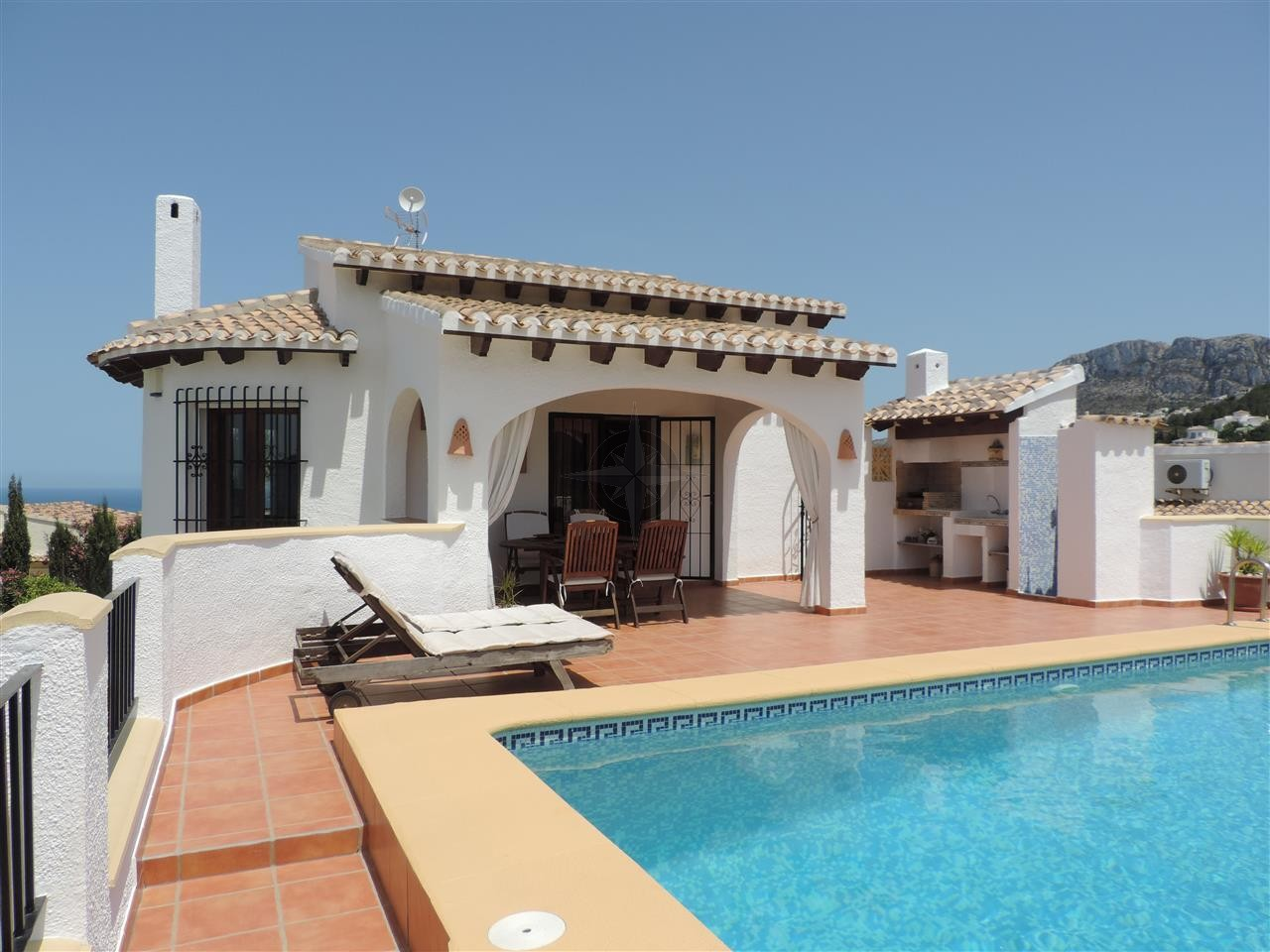 Beautiful Villa With Separate Apartment In Monte Pego 4 Bedrooms 4 Bathrooms, Alicante