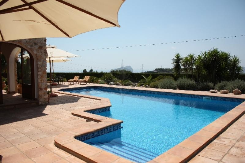 Finca With Sea And Mountain Views In Benissa With 3 Bedrooms 3 Bathrooms
