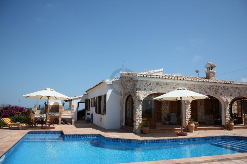 Hidden Rustic Treasure, Finca With Sea And Mountain Views In Benissa With 3 Bedrooms 3 Bathrooms, Alicante
