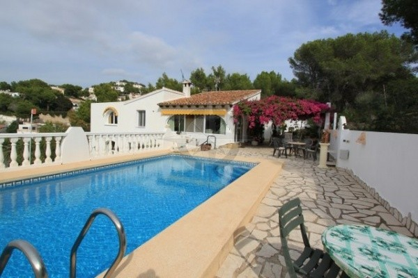 Stunning 3 Bedrooms 3 Bathrooms Villa With Panoramic Views In Moraira
