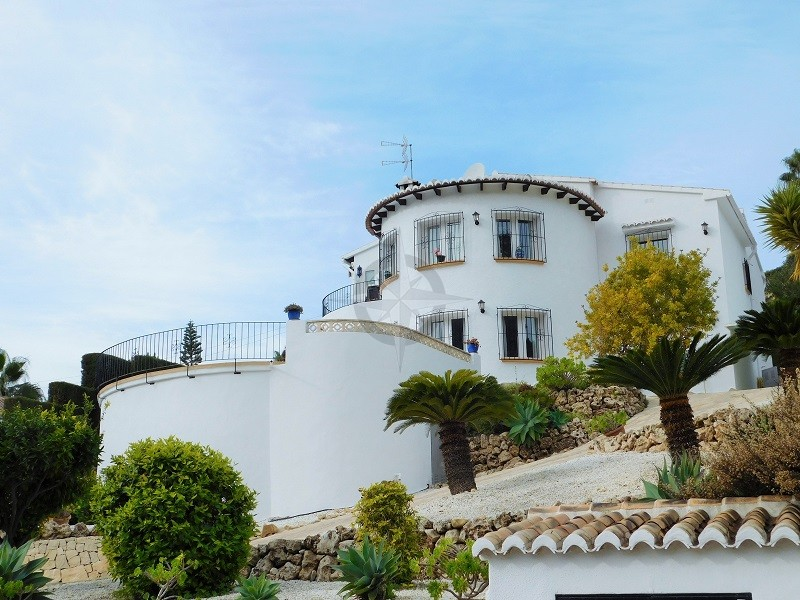 Gorgeous Large Villa With Sea Views In Benitachell 4 Bedrooms 3 Bathrooms, Alicante