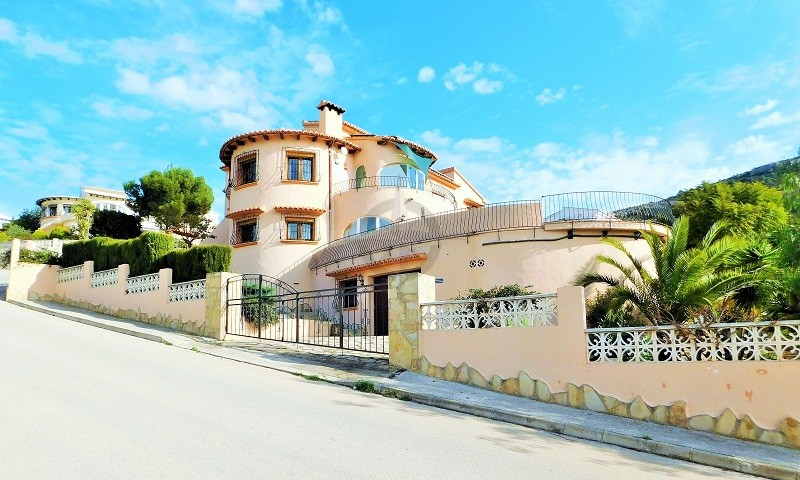 Charming Hidden Treasure, Villa Powered By Solar Panels In Murla 4 Bedrooms 3 Bathrooms, Alicante