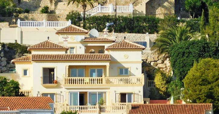 Glorious First Class Luxury Villa With Astounding Sea Views On Benissa Coast, Alicante, 5 Bedrooms 3+1 Bathrooms