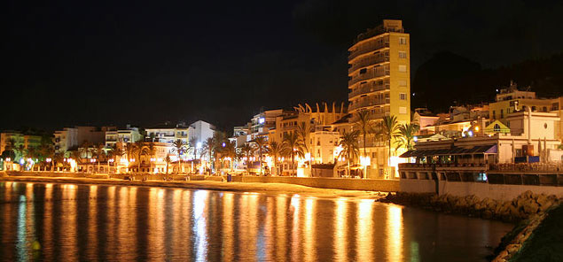 Javea at night